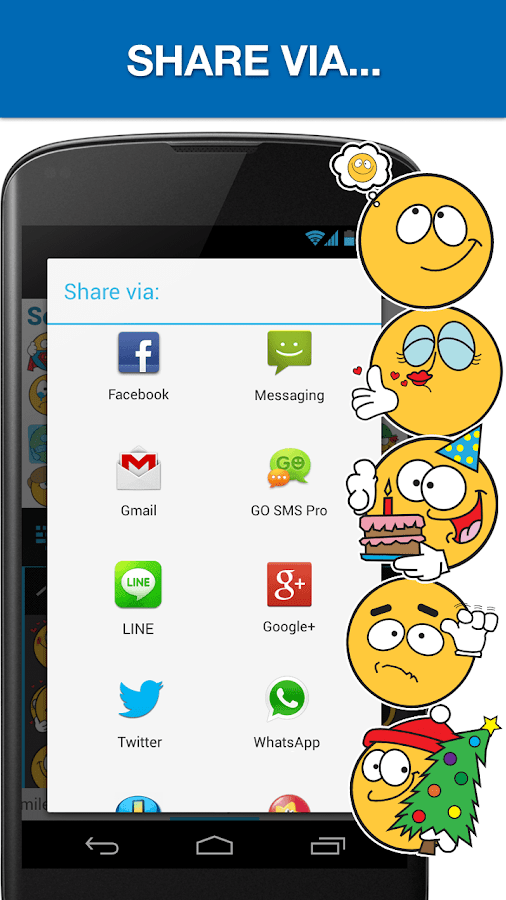 Emojidom Smiley & Emoji - screenshot