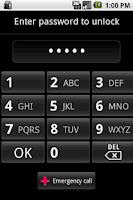 Screenshot of F Lock Screen