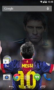 3D Lionel Messi Live Wallpaper
