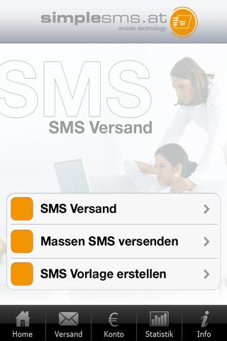 SimpleSMS.at- screenshot