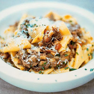 Jamie Oliver's Pappardelle with Amazing Slow-Cooked Meat