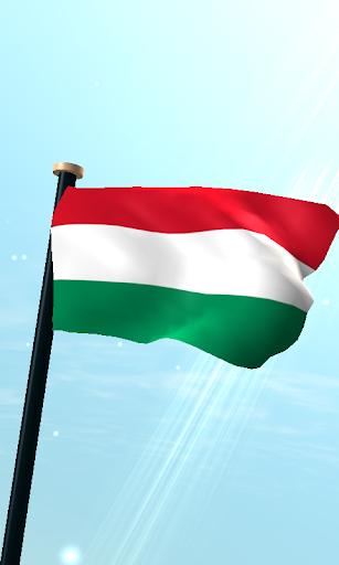匈牙利旗3D免費動態桌布