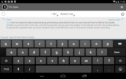 Typist: A Quick Typing Test screenshot 10