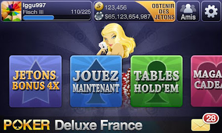 Texas Poker Deluxe Français 1.1.5 screenshot 7596