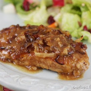 Apple Butter Pork Chops.
