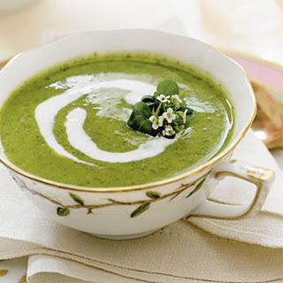Watercress-Buttermilk Soup