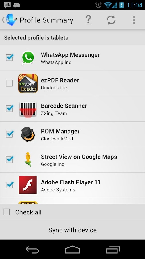 Setup Wizard Premium - screenshot