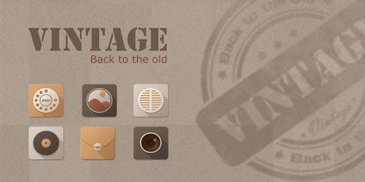 Vintage GO Launcher Theme v1.0 (Unlocked)