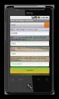 Screenshot of Grain Shrinkage Calculator