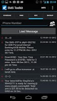 Screenshot of SMS Toolkit Trial