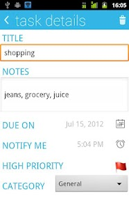 Sync Tasks : To Do List - screenshot thumbnail
