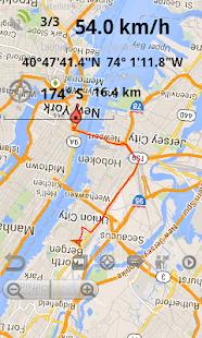 GPS Compass Map