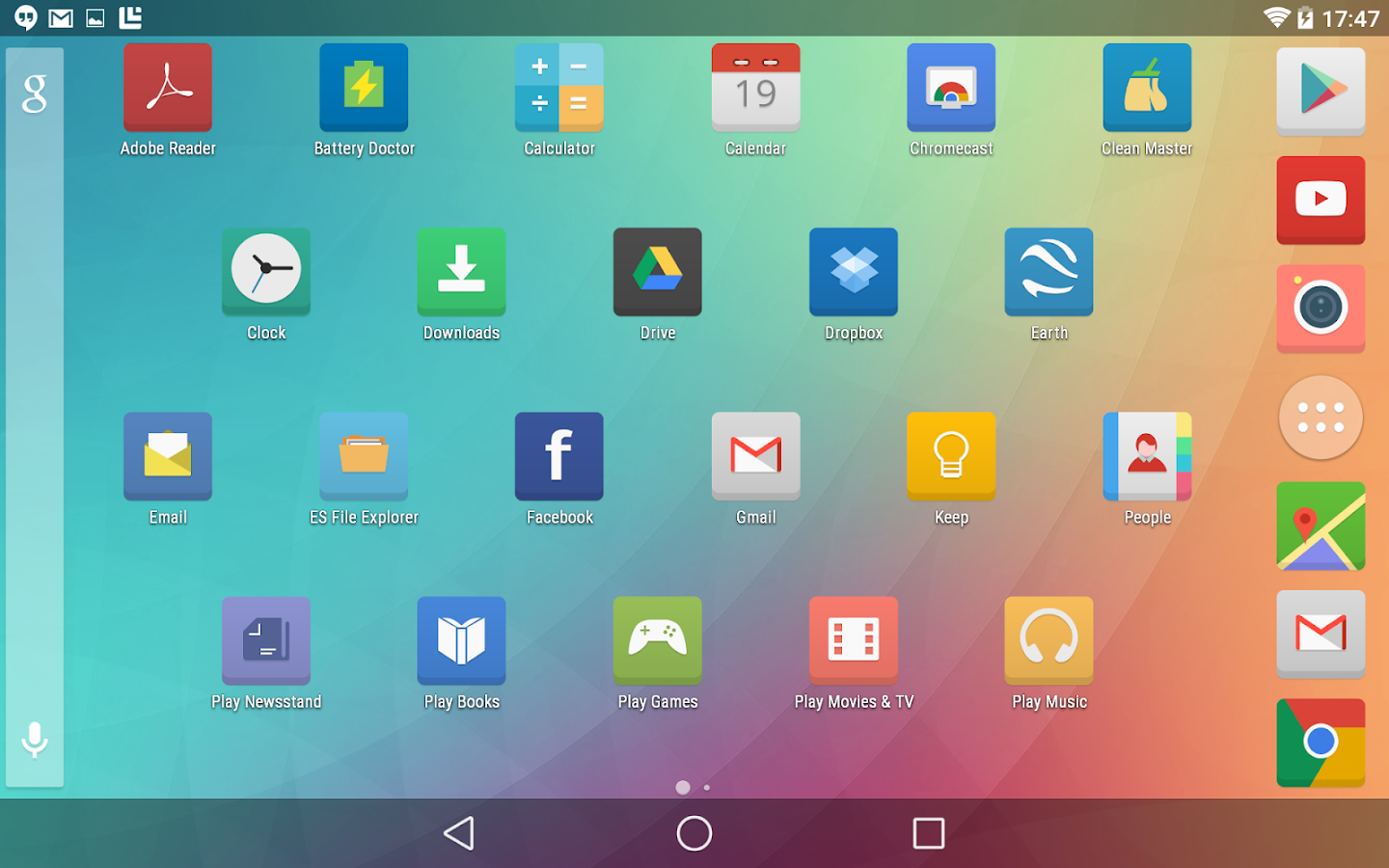 Numix Square icon pack- screenshot
