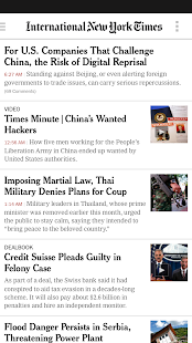 NYTimes - Breaking News - screenshot thumbnail