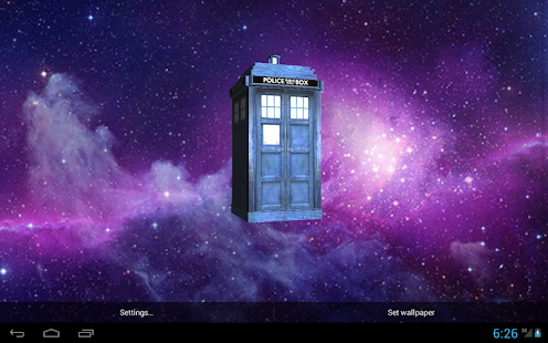 TARDIS 3D Live Wallpaper- screenshot thumbnail