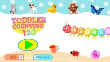Screenshot of Toddler Counting 123 Kids Free
