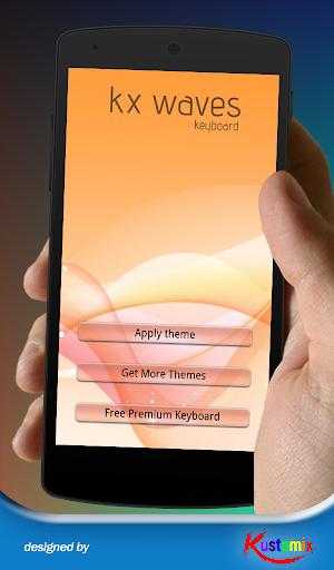 【免費個人化App】Kx Waves Keyboard-APP點子
