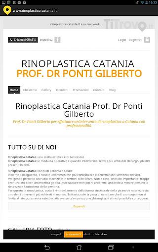 Rinoplastica Catania