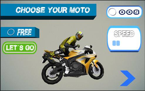 Moto Racing- screenshot thumbnail
