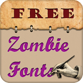 Zombie Free Fonts