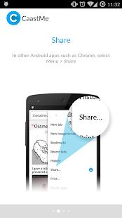 CaastMe Screenshot 2
