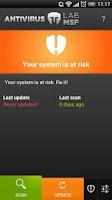 Screenshot of LabMSF Antivirus beta
