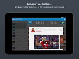 Screenshot of NFL Fantasy Football