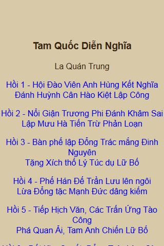 Tam Quoc Chi OFFLINE truyen