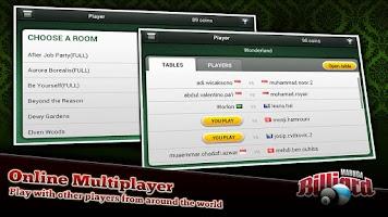 Screenshot of Mabuga Billiards