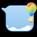 GO SMS balloon bubble Theme