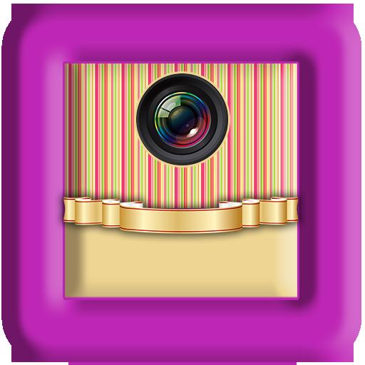美丽照片相框与文本 娛樂 App LOGO-硬是要APP