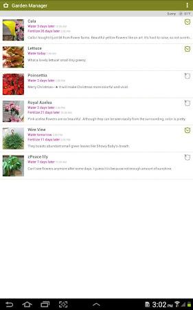 Garden Manager : Plant Alarm 1.7.8 screenshot 257009