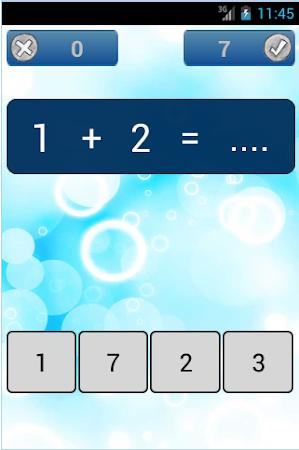 Basic Math for Kids 1.0 screenshot 2071836