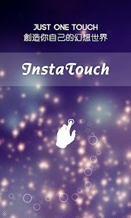 Insta touch:color effect brush