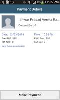 Screenshot of Customer Management