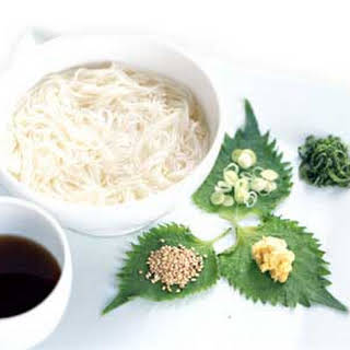 Japanese Cold Noodles.
