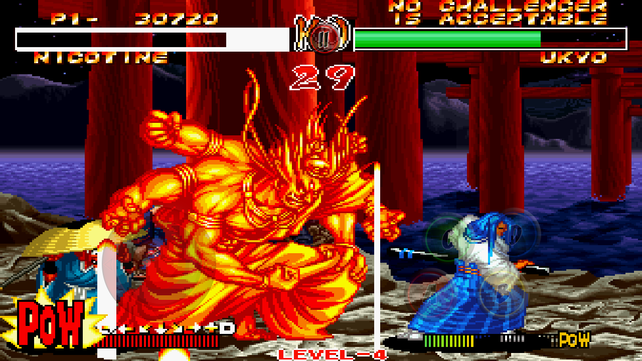 SAMURAI SHODOWN II - screenshot