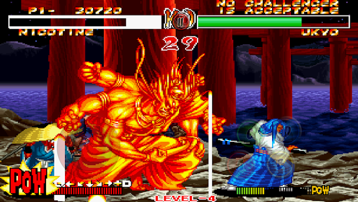 SAMURAI SHODOWN II- screenshot