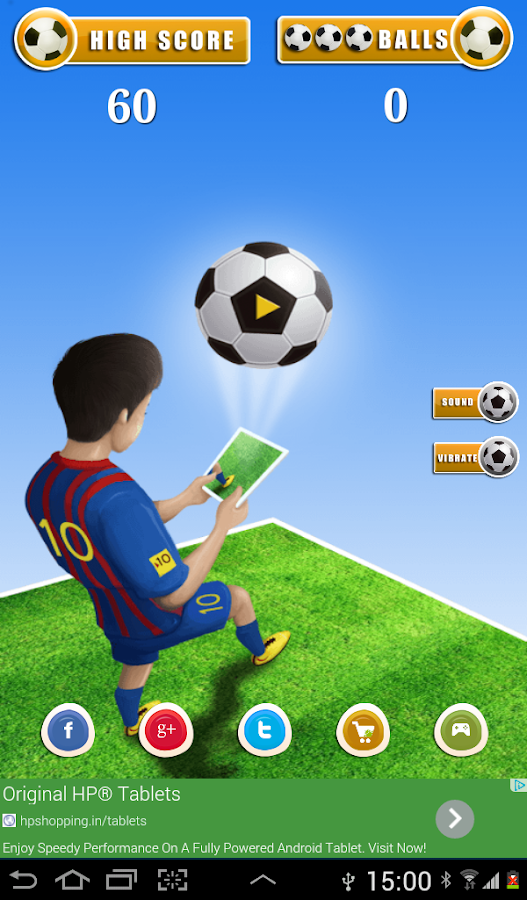 Virtual Dribbler- screenshot