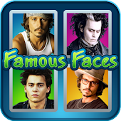 Famous Faces - 4 pics