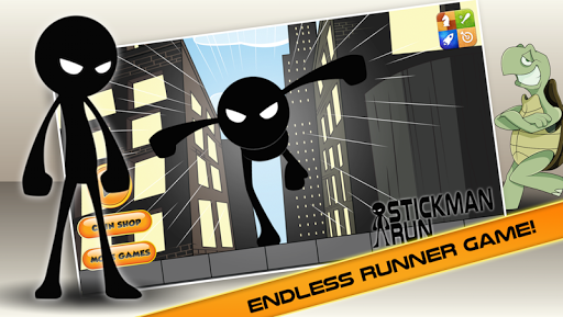 StickMan Run: City Defence