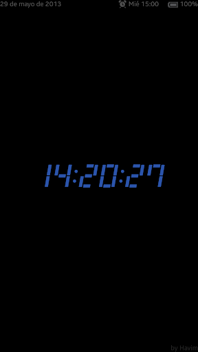 Galaxy S6 - Reloj de Noche