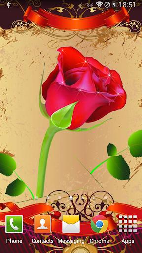 玫瑰动态壁纸