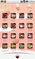 Screenshot of My Valentine GO Launcher Theme