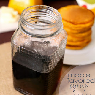 Maple Flavored Syrup Recipe