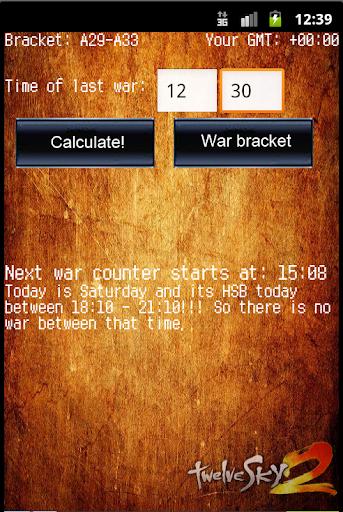 War calculator