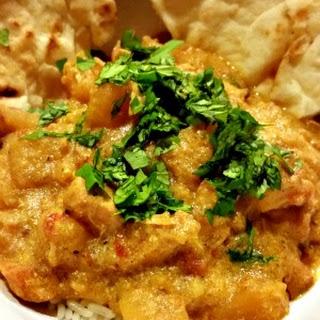 Pressure Cooker Chicken Korma.