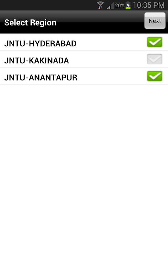 JNTU WORLD - screenshot