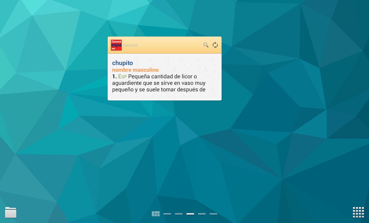 Vox General Spanish LanguageTR - screenshot