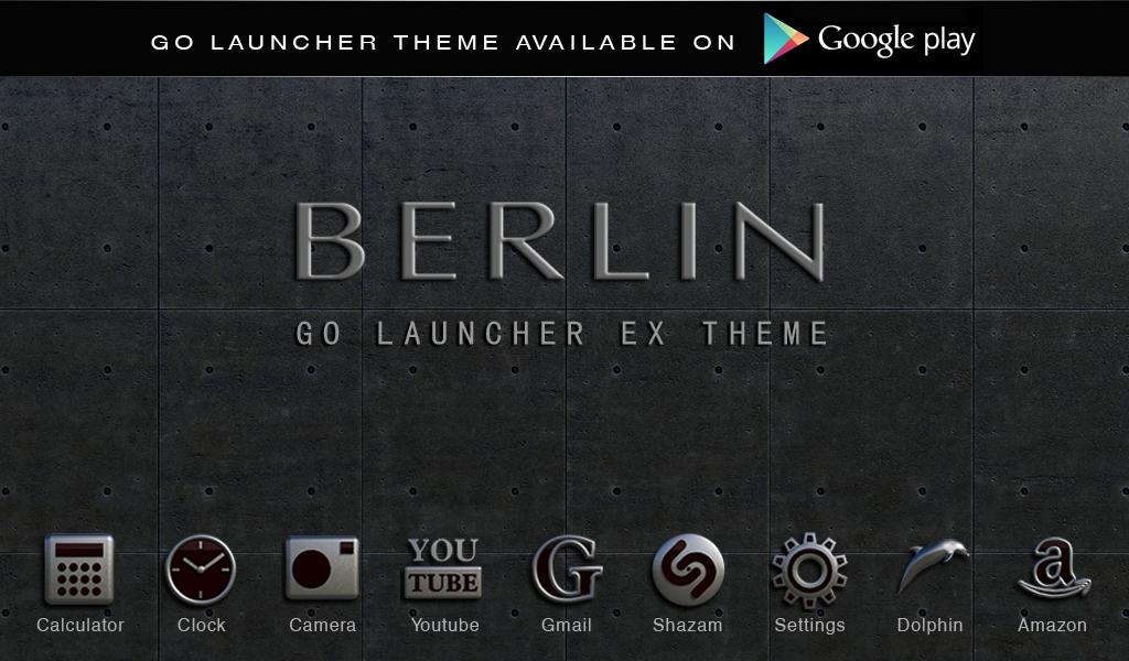 berlin digital clock widget android apps on google play. Black Bedroom Furniture Sets. Home Design Ideas